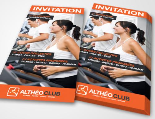 Création Flyer Altheo